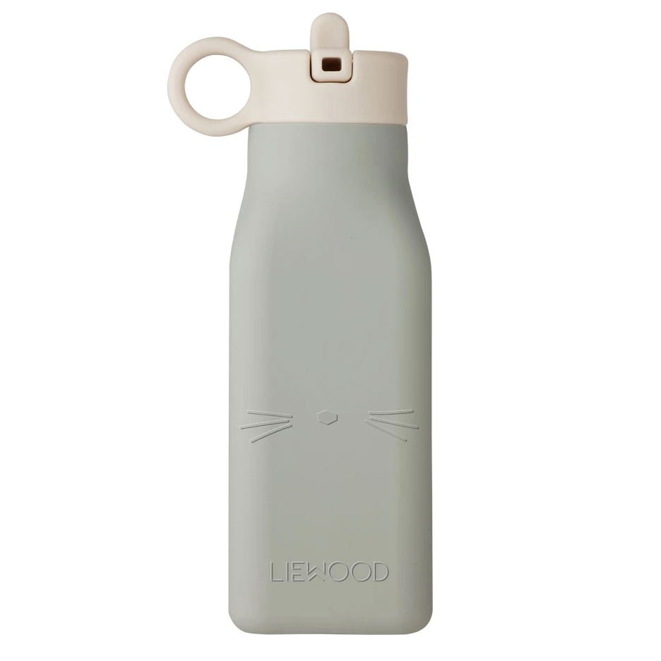 Liewood - Trinkflasche Warren Cat Dove Blue