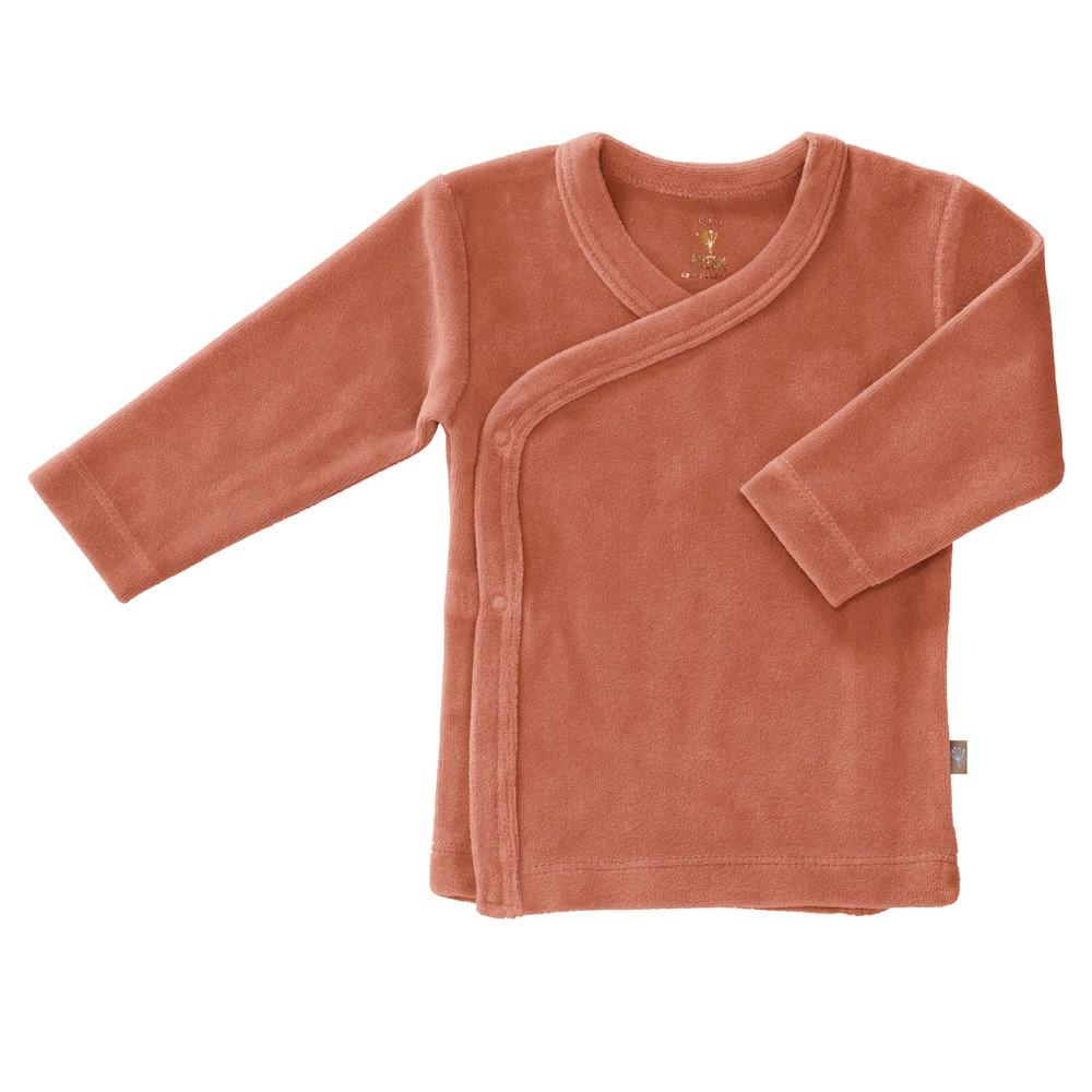 Fresk - Weiches Baby Wickelhemd Ash Rose