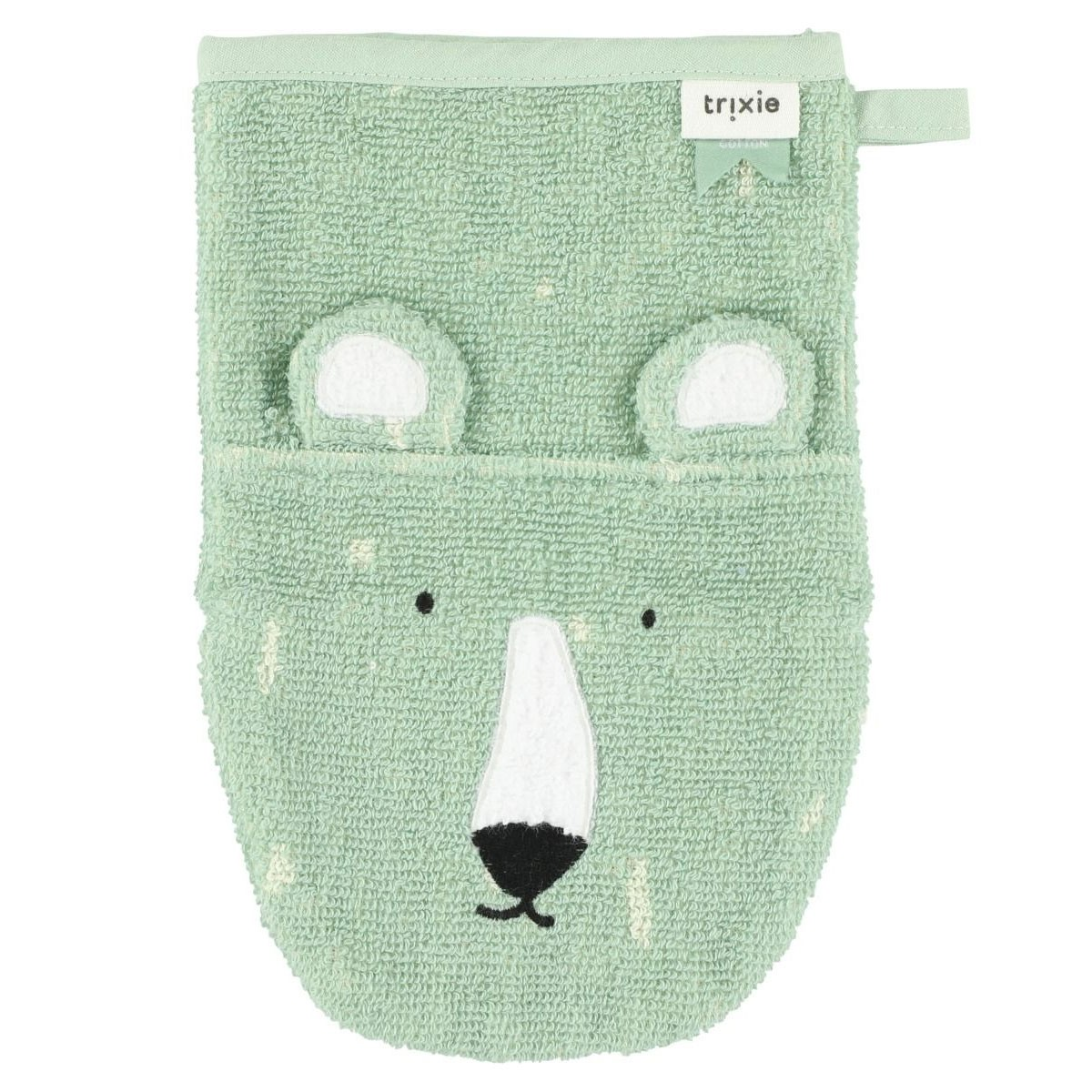 Trixie Baby - Waschlappen Mr Polarbear Mint
