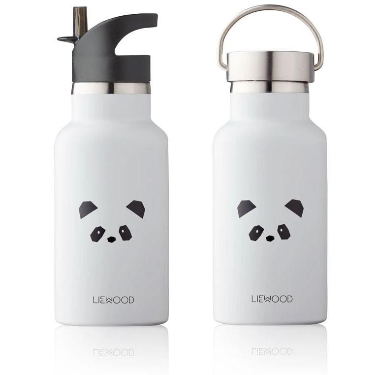 Liewood - Trinkflasche Panda Light Grey