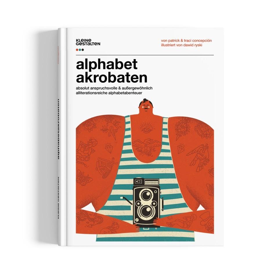 Kinderbuch - Alphabetakrobaten