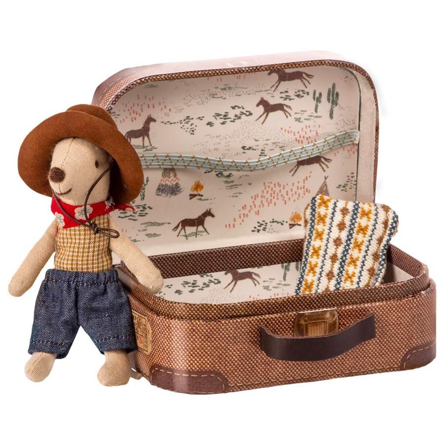 Maileg - Kleine Cowboy Maus im Koffer