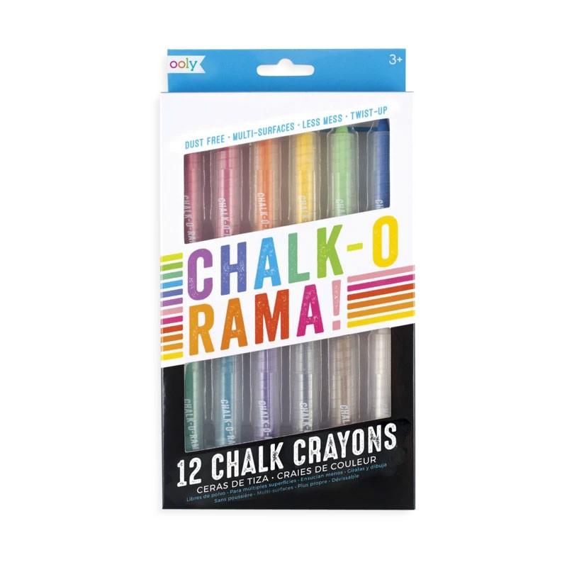 OOLY - Chalk-O-Rama - 12 bunte Kreidestifte