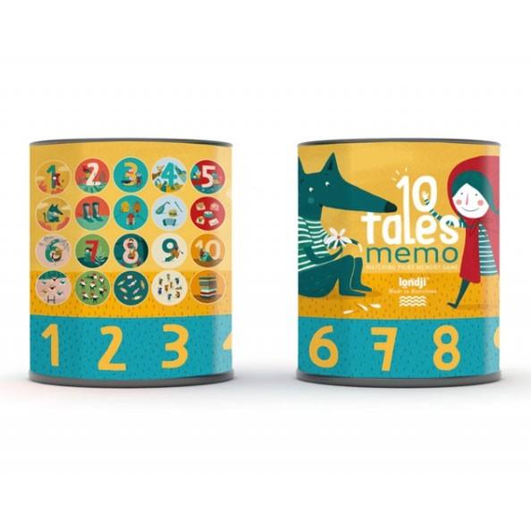 "Londji - 20 Teile Memory ""Ten Tales"""