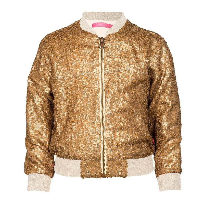 LEBIG - Edle Collegejacke Gold