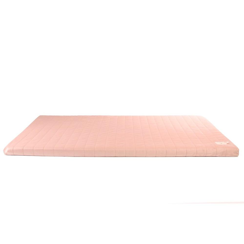Nobodinoz - Spielmatratze Savanna Velvet Zanzibar Bloom Pink