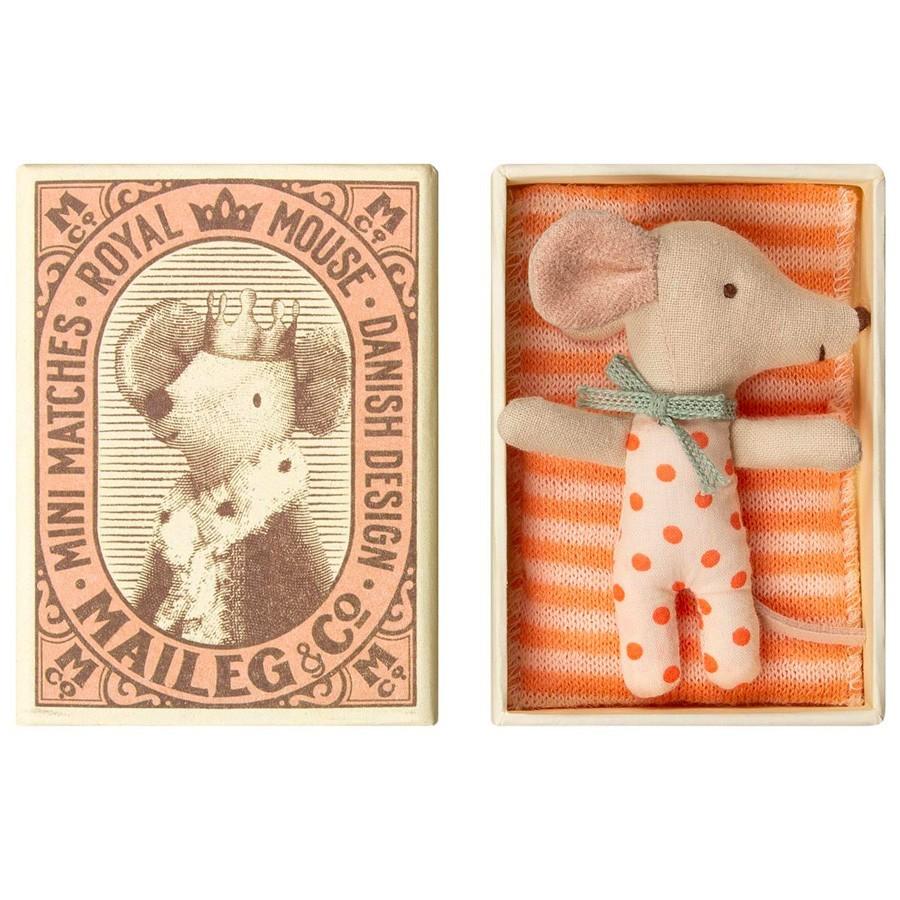 Maileg - Kleine Schlafmaus in der Schachtel Girl