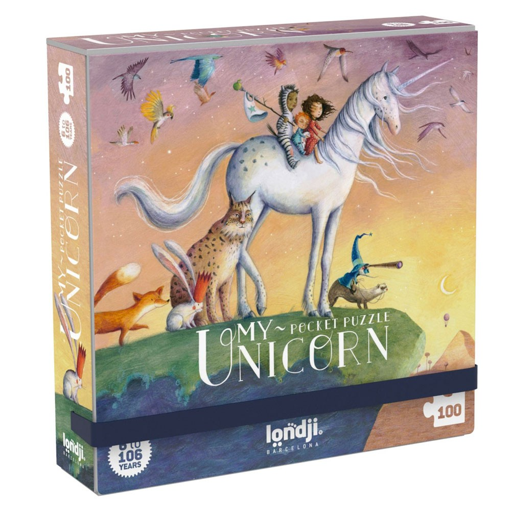 "Londji - Pocket Puzzle ""My Unicorn"""
