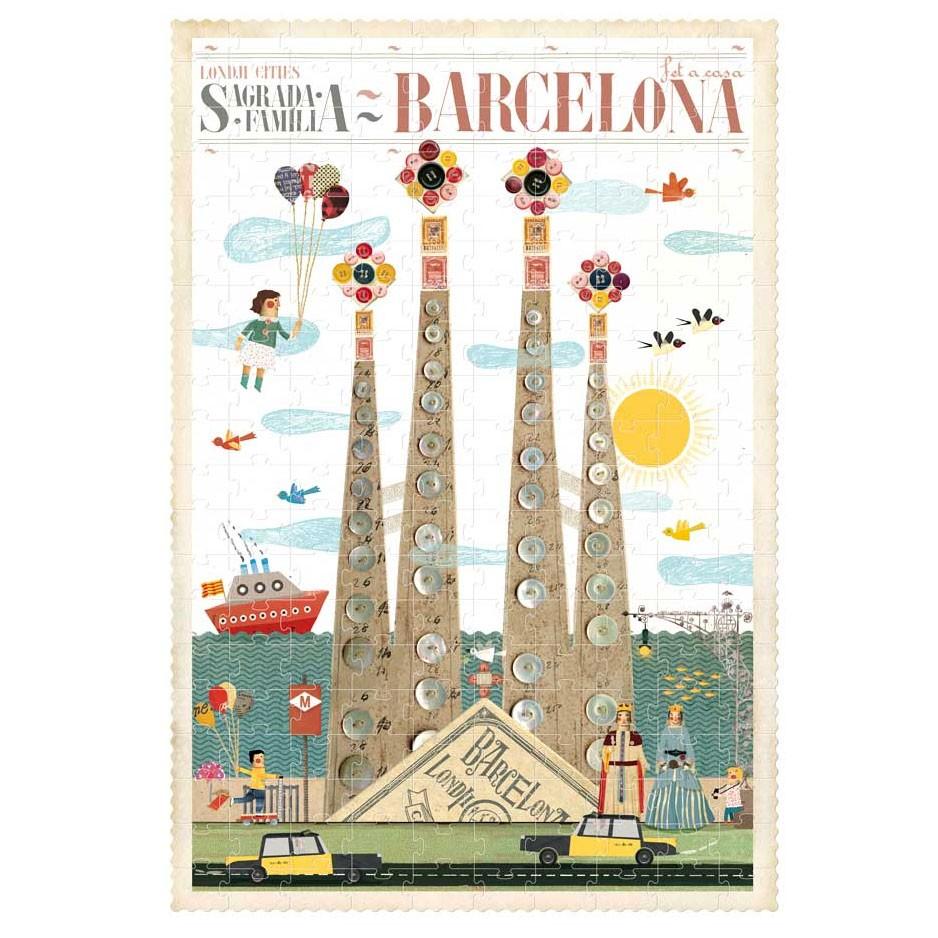 Londji - Barcelona Puzzle 200 Teile