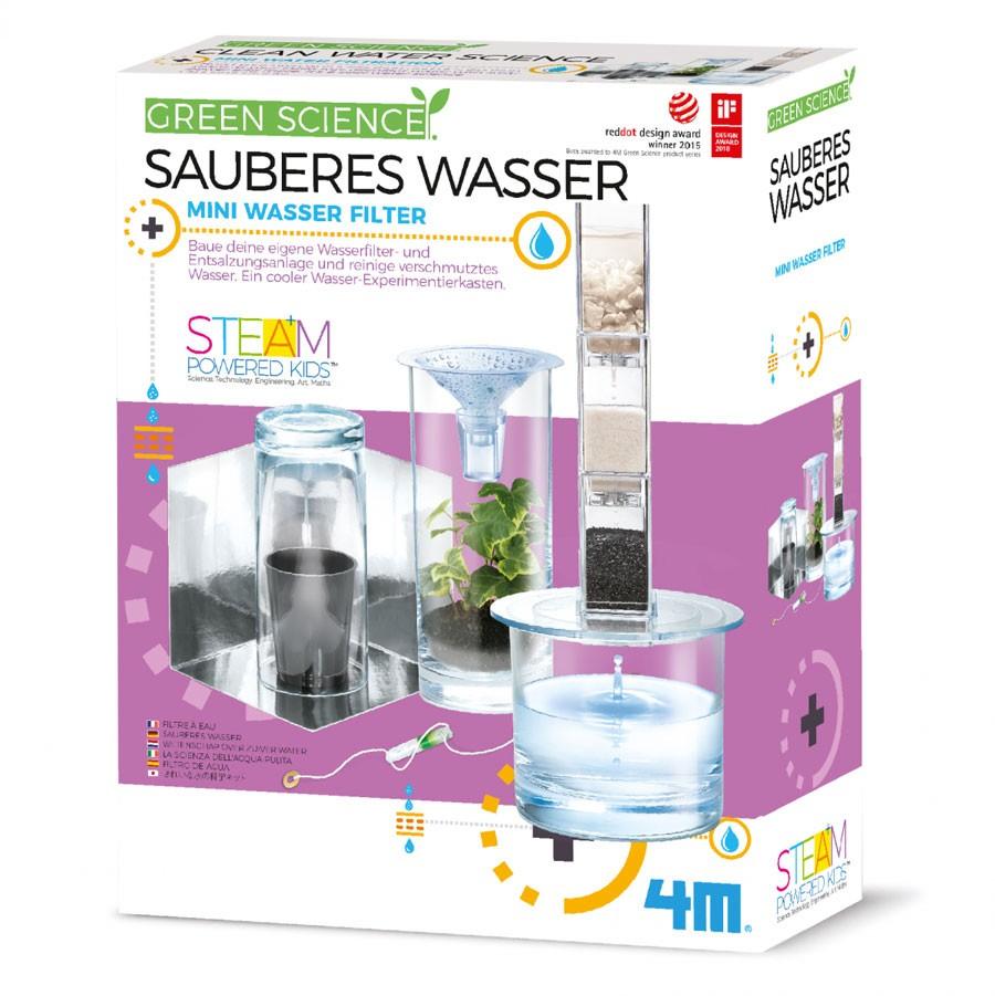 4M Green Science - Sauberes Wasser Experiment Set