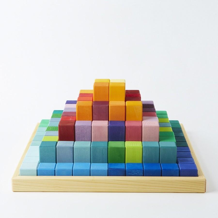 Grimm's Spielzeug - Kleine Stufenpyramide