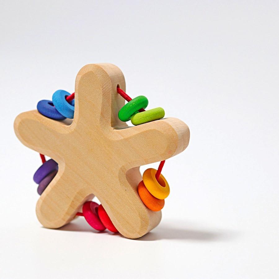 Grimm's Spielzeug - Regenbogen Stern