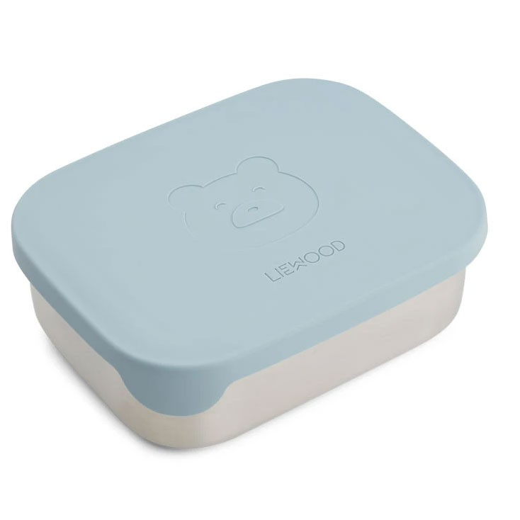 Liewood - Arthur Lunch Box Mr Bear Sea Blue