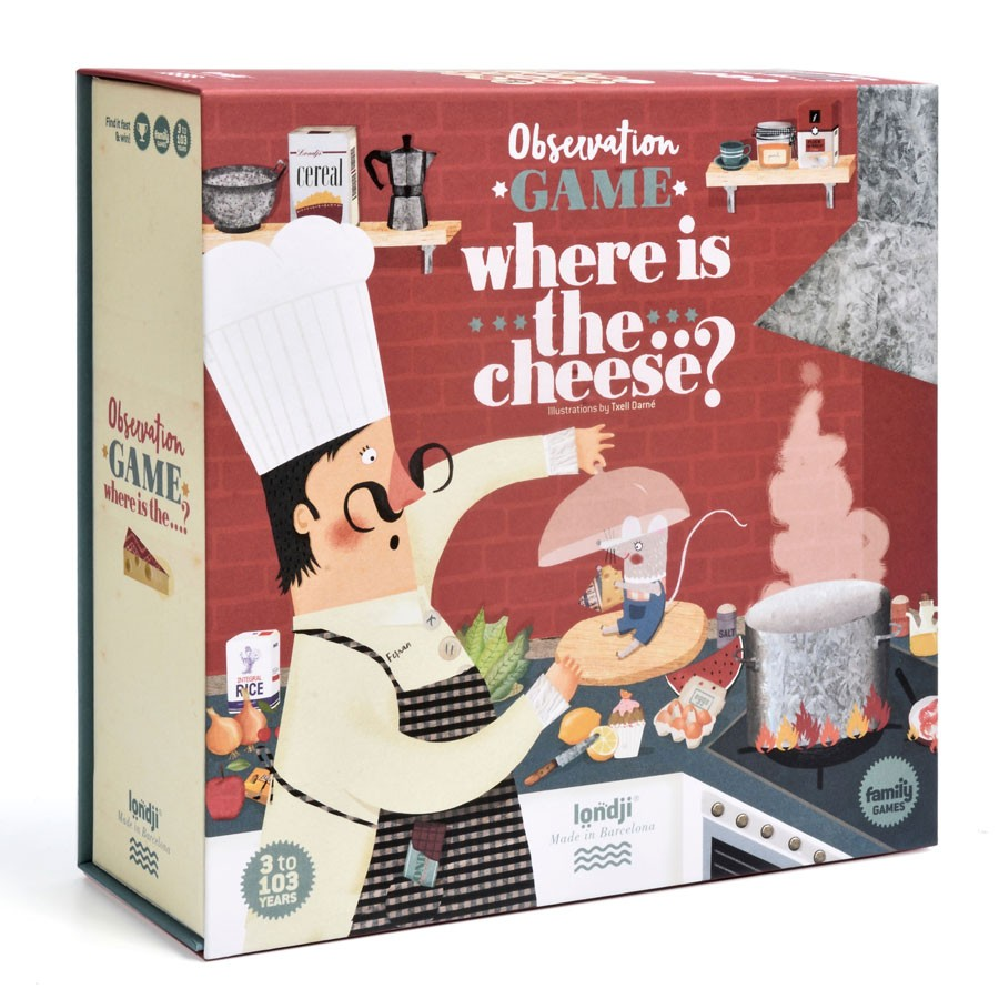"""Londji - Spiel """"Where is the Cheese"""""""