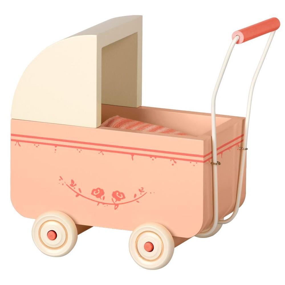 Maileg - Kinderwagen Puppenhaus Rosa