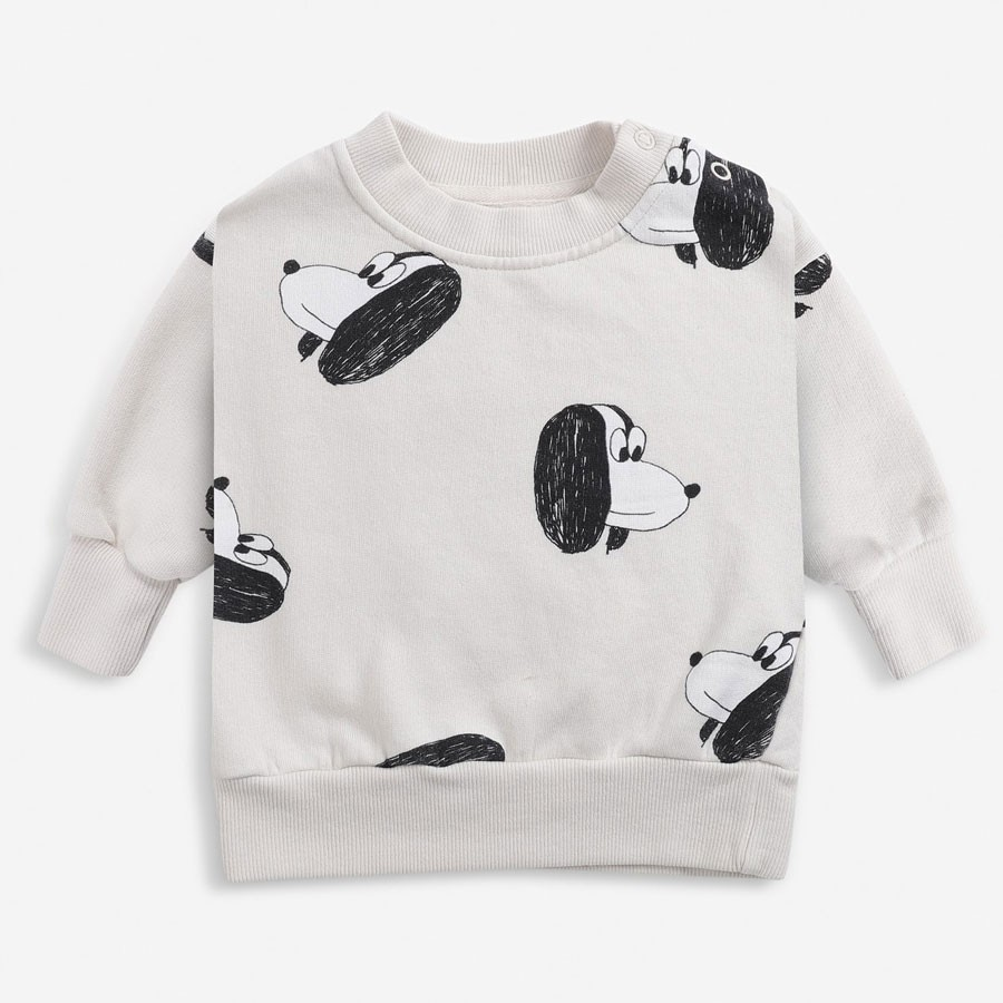 Bobo Choses - Baby Sweatshirt Doggie All Over