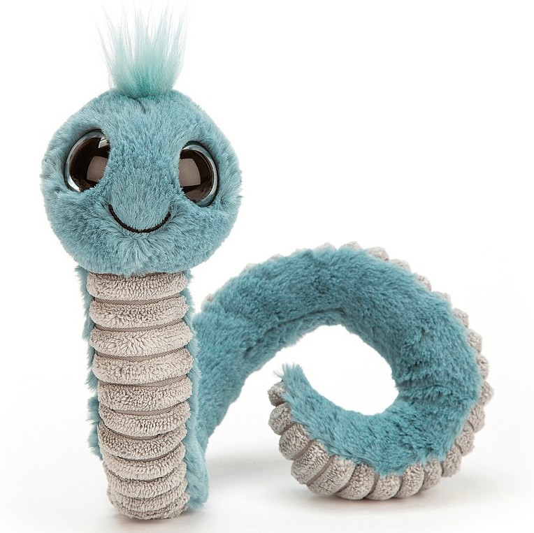 Jellycat - Wiggly Worm Blue