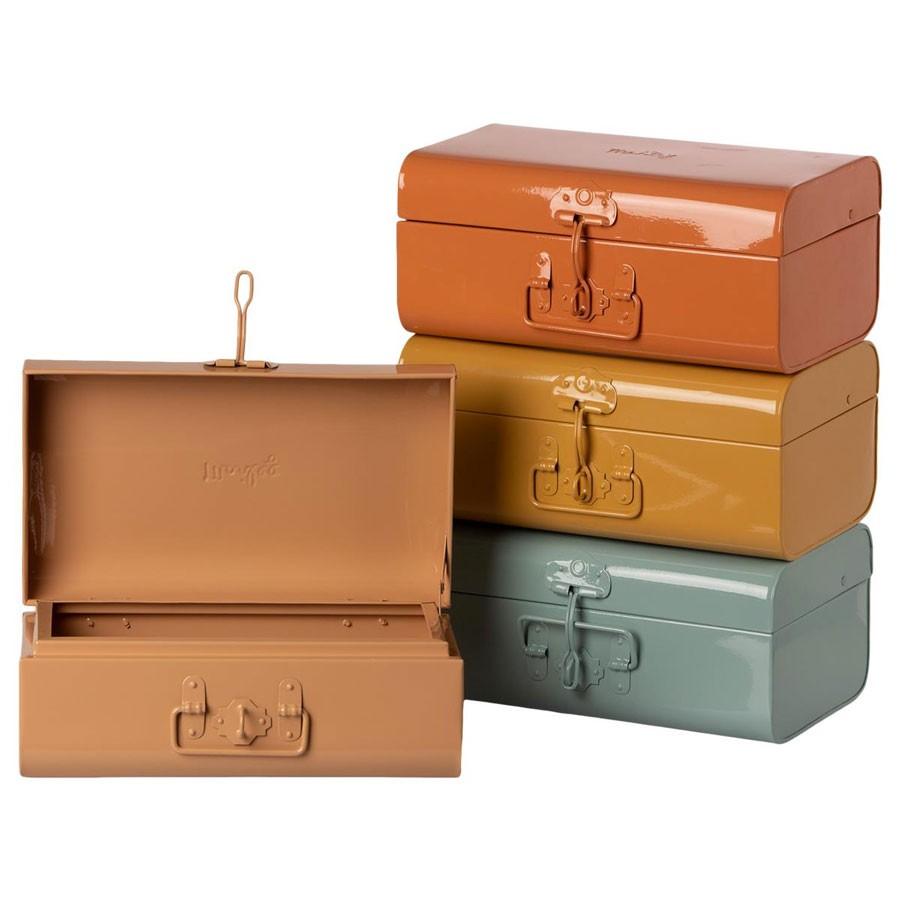 Maileg - Koffer aus Metall in verschiedenen Farben Größe S