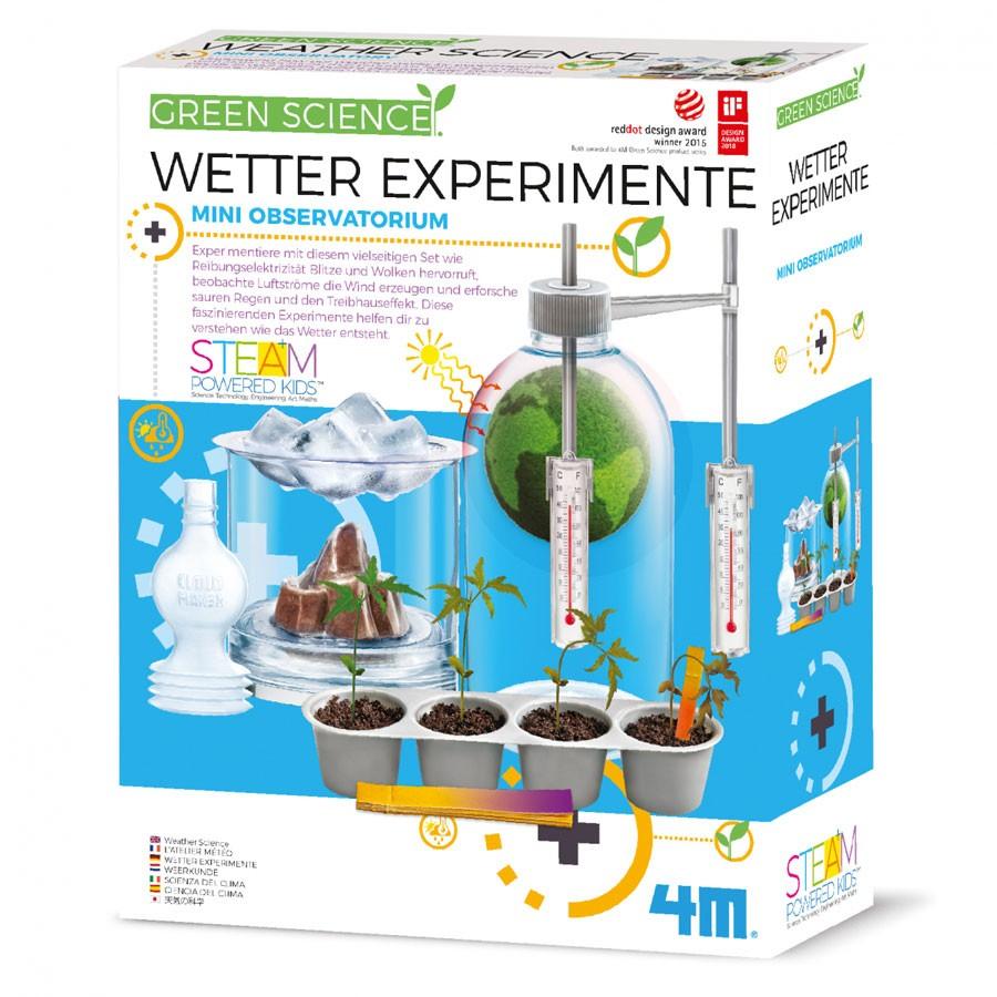 4M Green Science - Wetter Experimente Baukasten