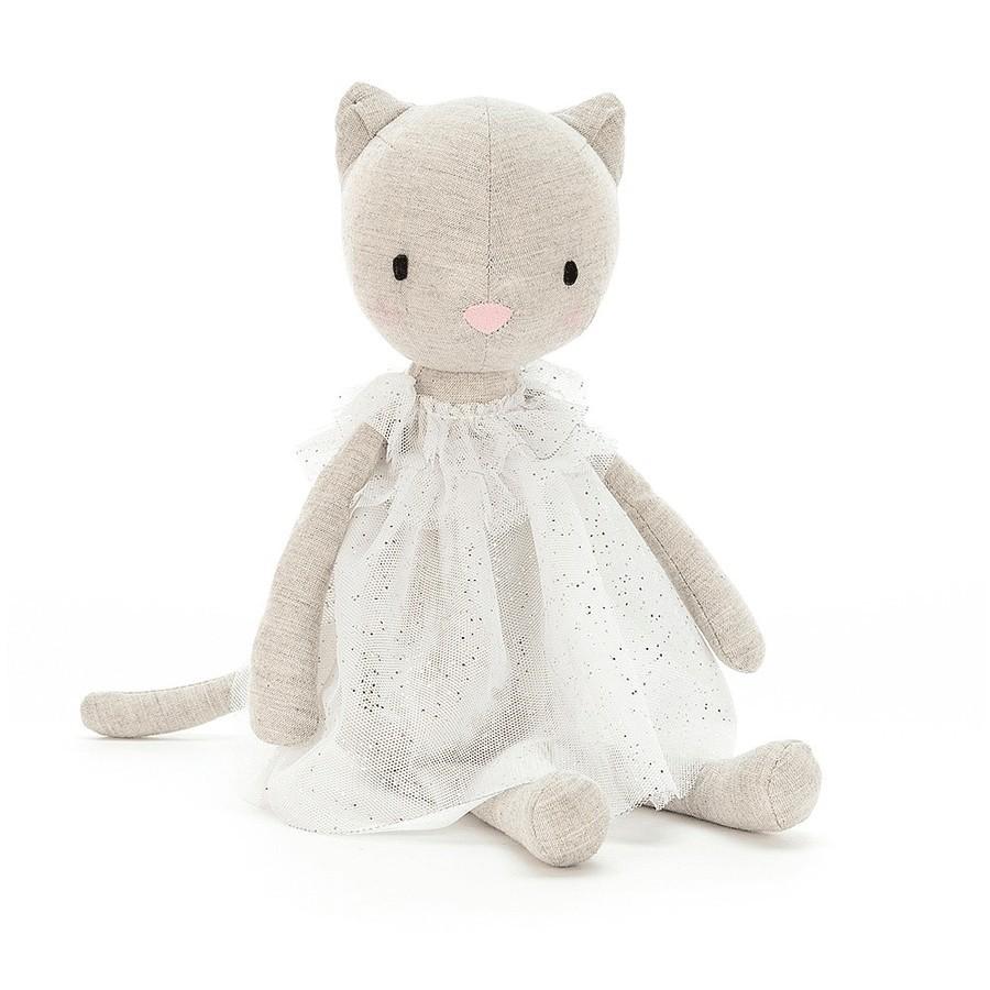 Jellycat - Katze im Kleidchen zum kuscheln