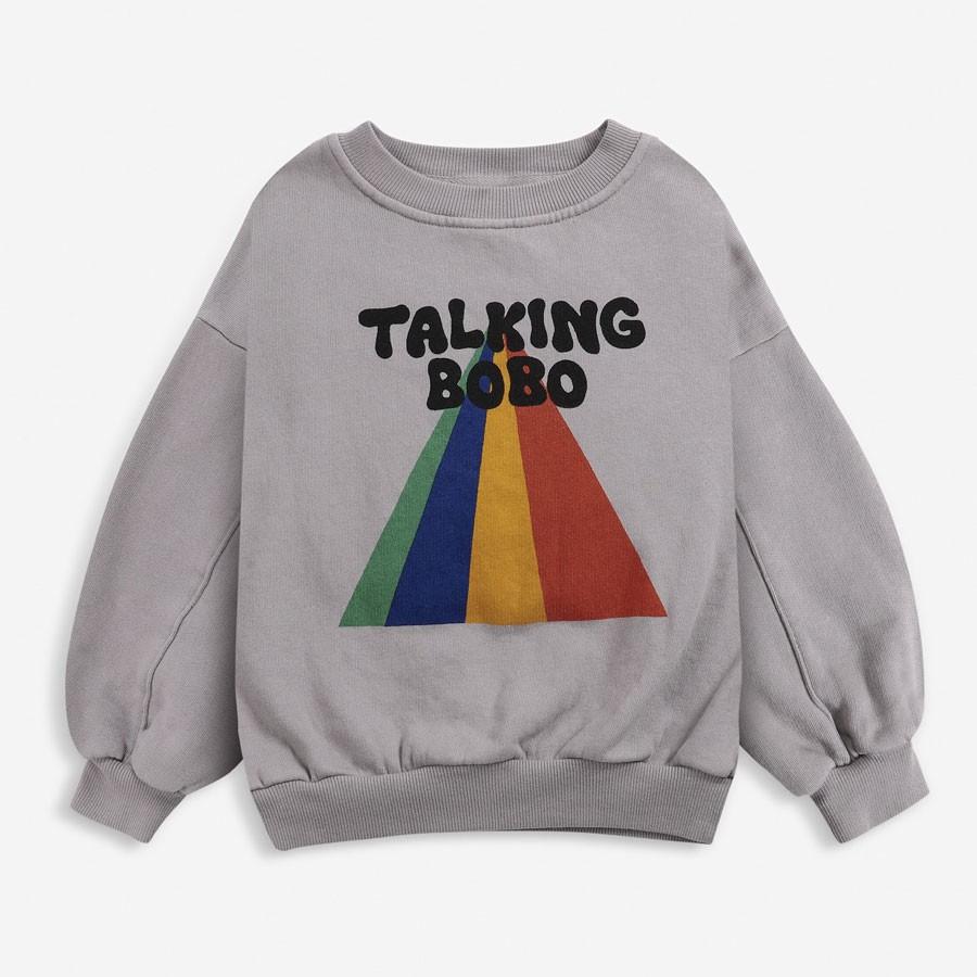 Bobo Choses - Sweatshirt Talking Bobo Rainbow
