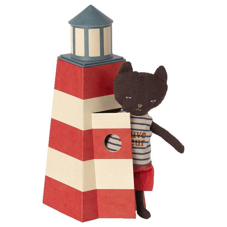 Maileg - Katze mit Leuchtturm