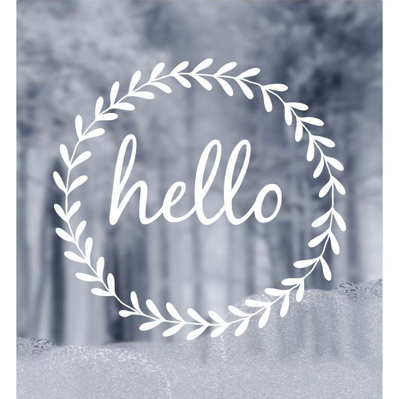 "Delight Department - Fensterbild ""Hello"""