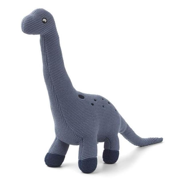 Liewood - Kuscheltier Brachio Dino Strick Blau