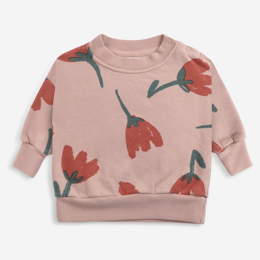 Bobo Choses - Sweatshirt Big Flowers All Over