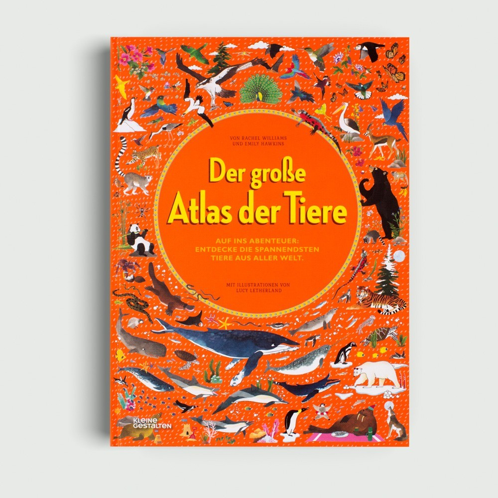 Kinderbuch - Der große Atlas der Tiere