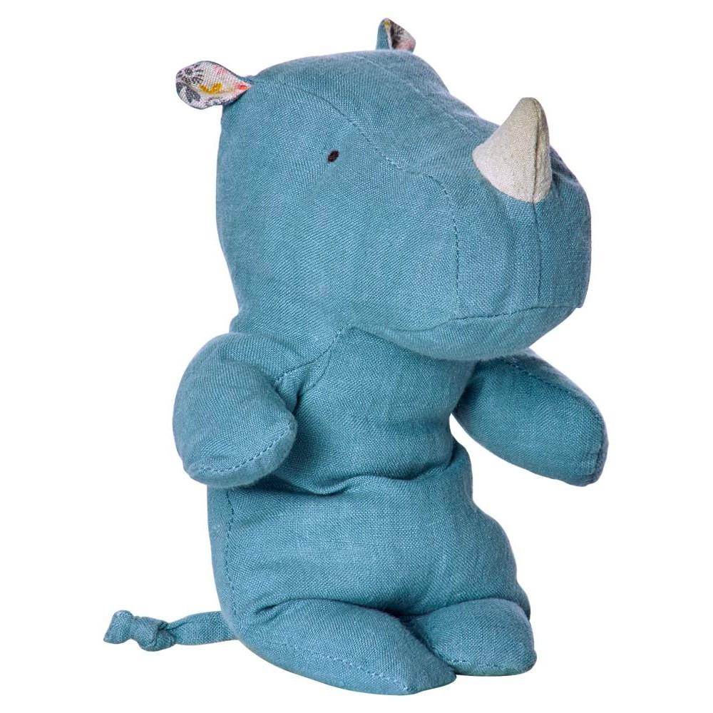 Maileg - Kleines Nashorn Blau