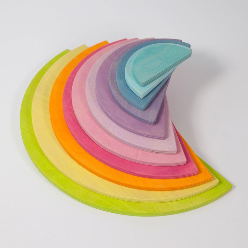 Grimm's Spielzeug - Große Halbkreise Pastell