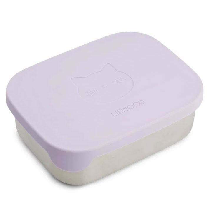 Liewood - Arthur Lunch Box Cat Lavender