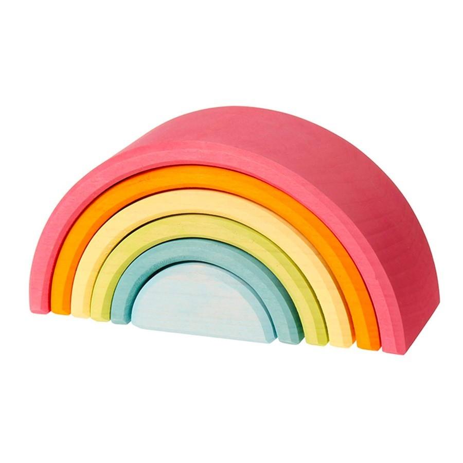 Grimm's Spielzeug - Kleiner Regenbogen Pastell aus Holz
