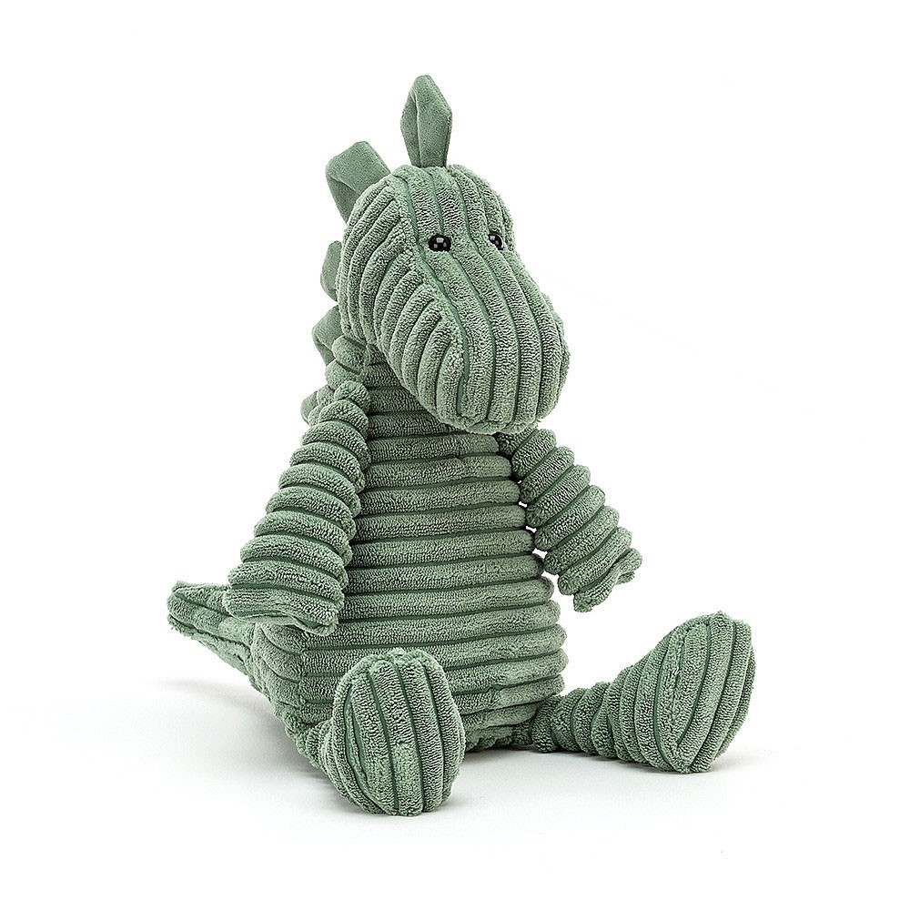 "Jellycat - Dino ""Walter"" aus Kordstoff"