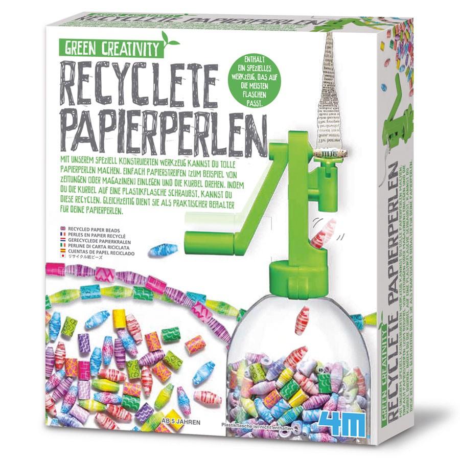 4M Green Creativity - Recycelte Papierperlen