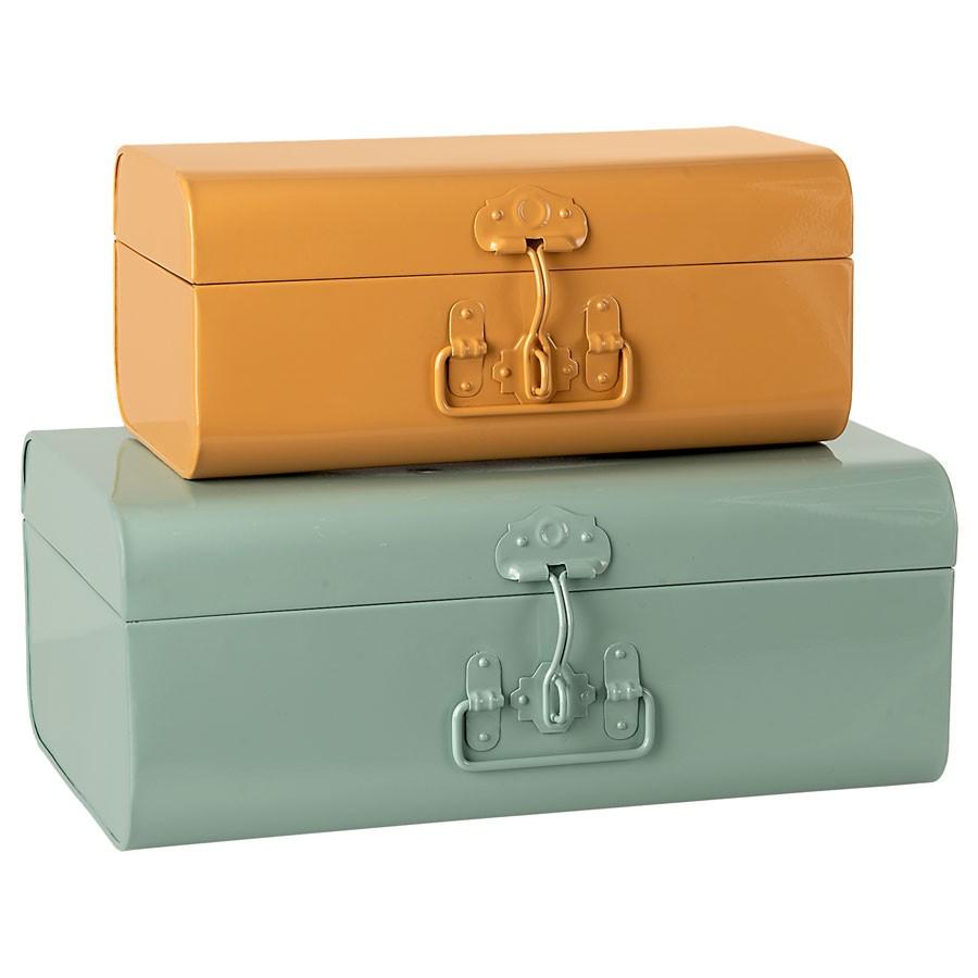 Maileg - Set 2 Koffer aus Metall