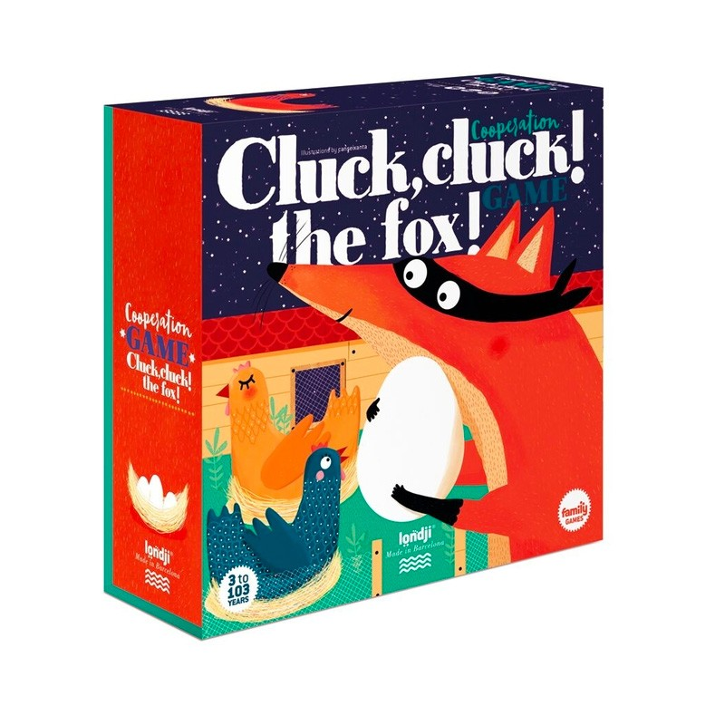 "Londji - Spiel ""Cluck Cluck - the Fox"""