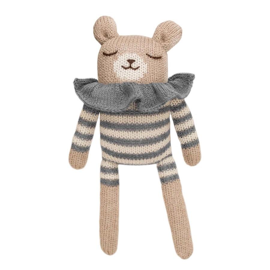Main Sauvage - Kuscheltier Teddy Striped Romper
