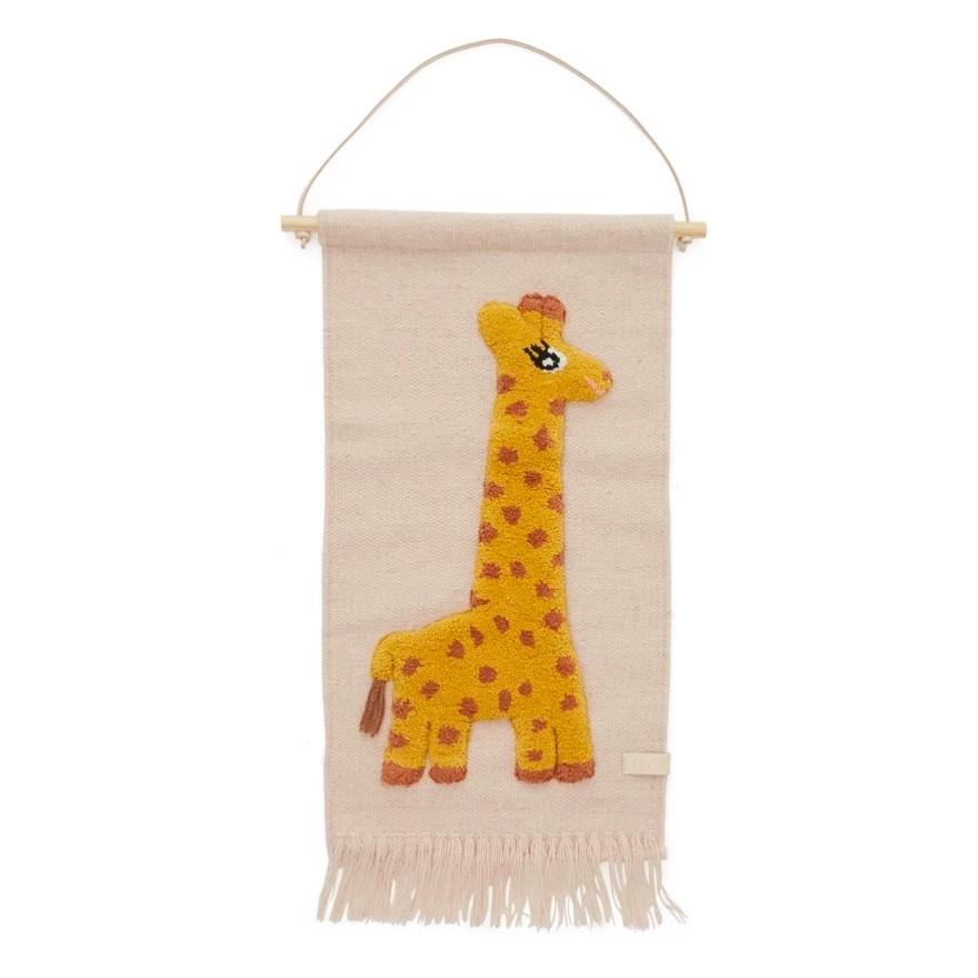 """OYOY - Wandteppich """"Giraffe"""""""