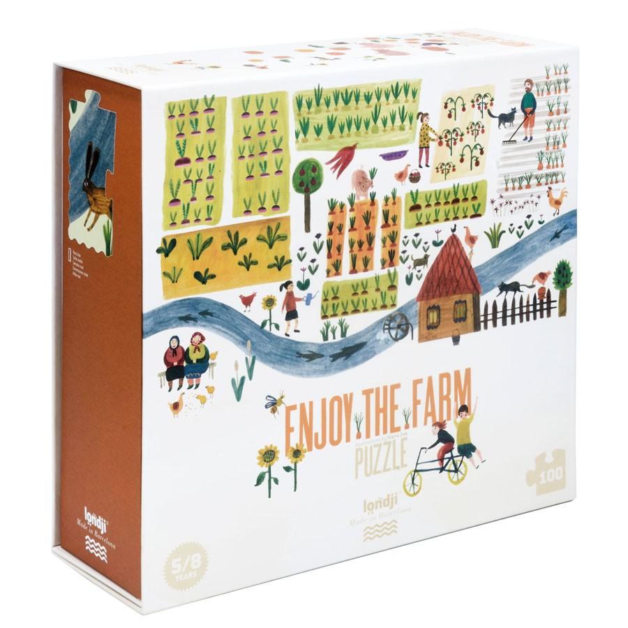 "Londji - Puzzle ""Enjoy the Farm"""
