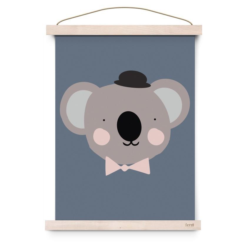 """Eef Lillemor - Poster """"Herr Koala"""""""