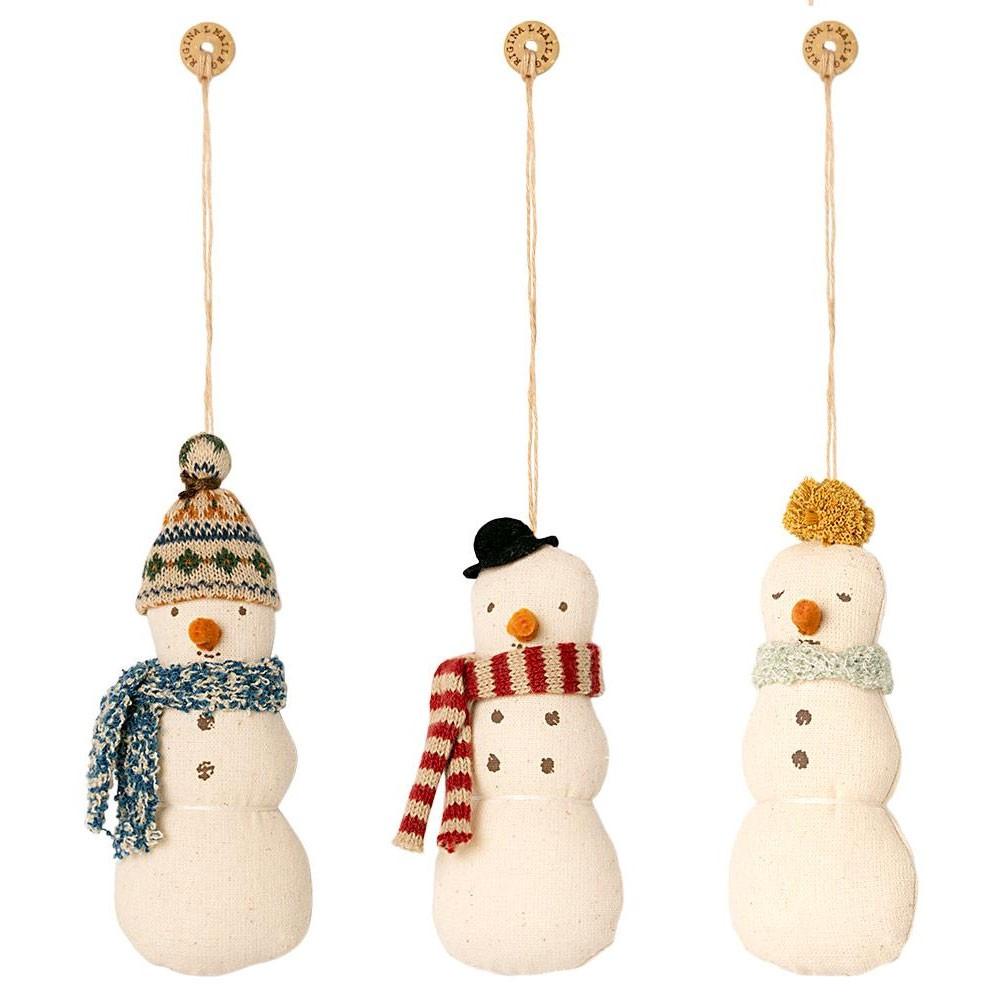 Maileg - Anhänger Schneemann in drei Sorten
