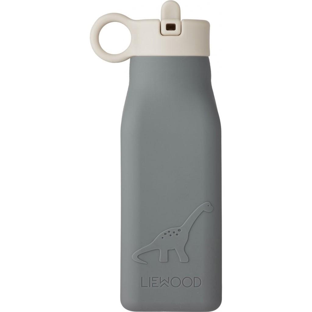 Liewood - Trinkflasche Warren Dino Blue Wave