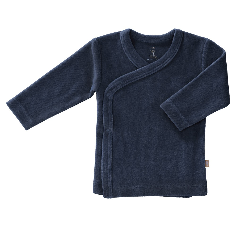 Fresk - Weiches Baby Wickelhemd Indigo