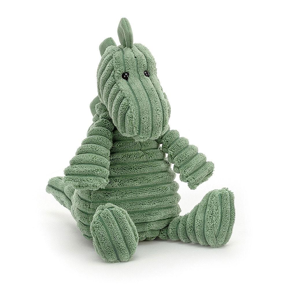 """Jellycat - Kleiner Dino """"Walter"""" aus Kordstoff 26cm"""