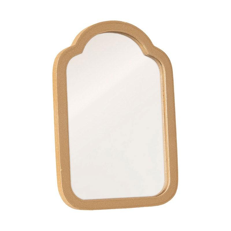 Maileg - Miniatur Spiegel Puppenhaus Gold 10cm