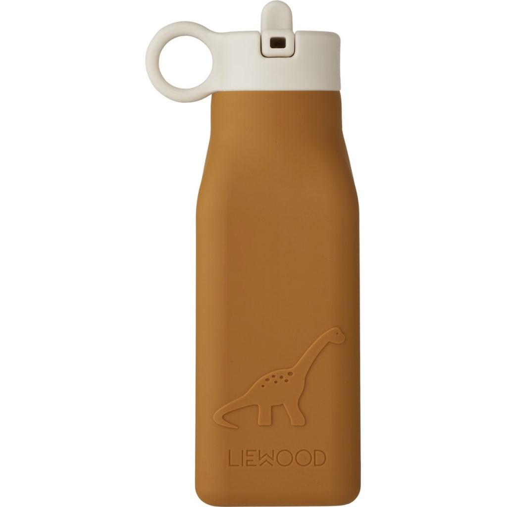 Liewood - Trinkflasche Warren Dino Mustard