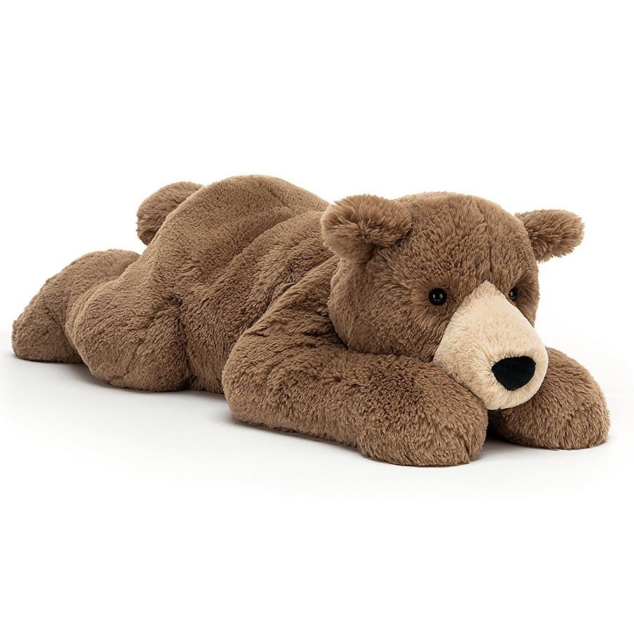 Jellycat - Woody Bear Lying