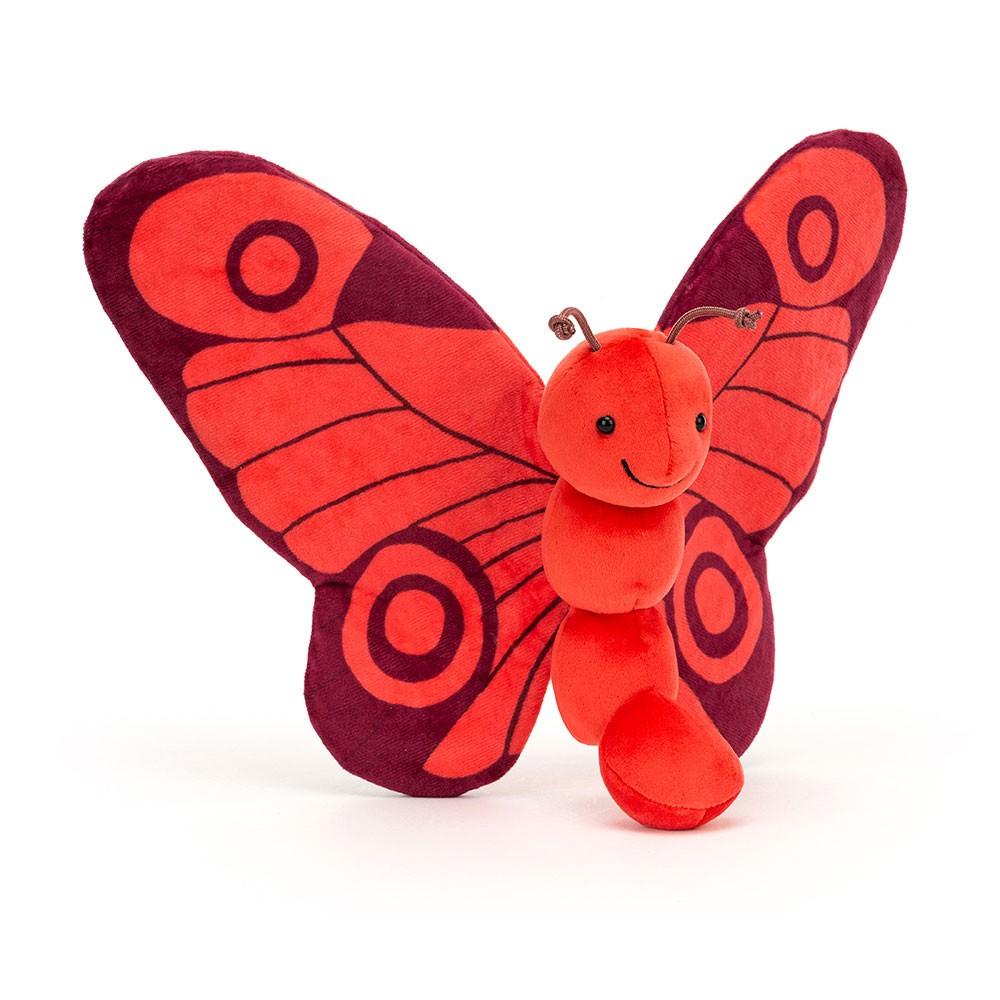 Jellycat - Breezy Schmetterling Poppy